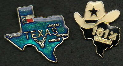Lot 2 Pin's - Usa Texas Dallas - Collection