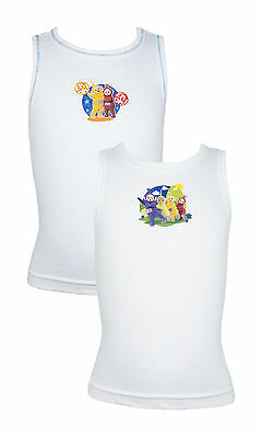Pack of 2 Teletubbies Cotton Vests 18 months - 4 years