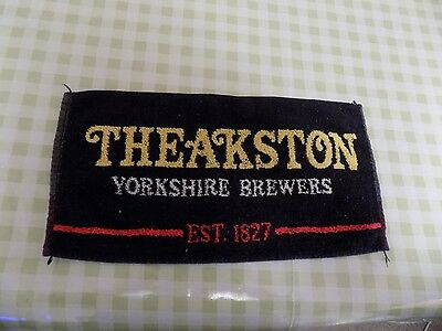 Cloth Bar Towel - Theakston Yorkshire Brewers Est 1827
