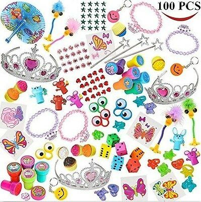 Joyin Toy 100 Pc Party Favor Toy Accessory Assortment Girl Kids Birthday Pinata