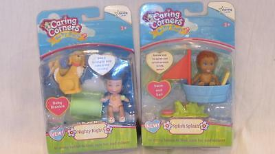 NEW Caring Corners Baby Buds Doll Lot Nanny Oakes fits Fisher Price Dollhouse
