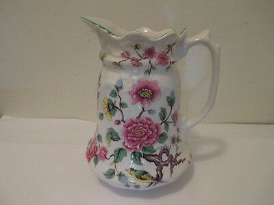 James Kent Old Foley, Chinese Rose Pattern, Pitcher