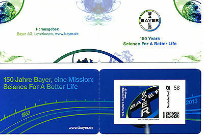 Marke individuell - 150 Jahre Bayer / 150 Years for a better live