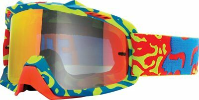 Fox Racing AIRSPC Air Space Cauz Spark MX Goggles CLOSEOUT Yellow Red Red Spark
