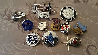 Vintage  Badge Collection
