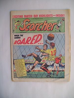 """Scorcher "" comic .19 Sept. 1970."