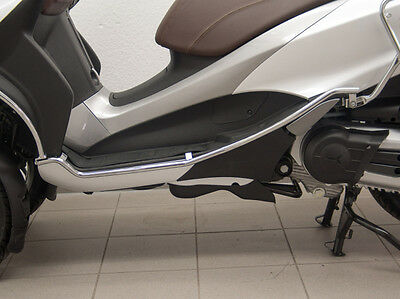 Crash bar Side Fehling 6168 Chrome for Piaggio MP3 500ccm M861 ab Bj.2014