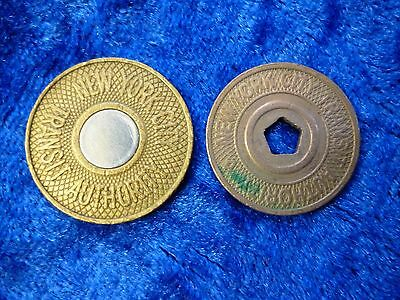 New York Transit Authority Token Pair - 'One Fare'