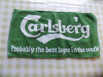 Cloth Bar Towel - Carlsberg