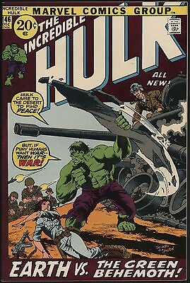 20% Off! Incredible Hulk #146 Very Glossy Vfn+ Cents Comic With White Pages