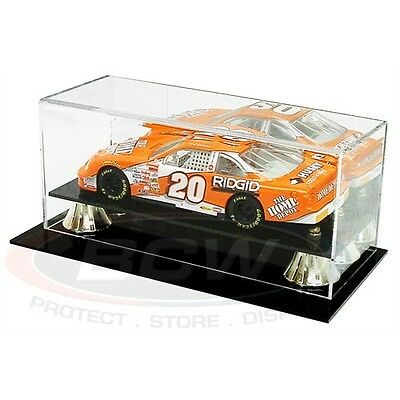 1-24 SCALE MODEL CAR DISPLAY CASE, with Mirror Back, Wall Mountable