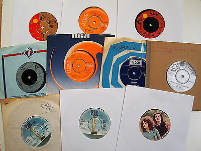 "GLAM ROCK CLASSICS 7"" COLLECTION JOBLOT 20 VINYL SINGLES 70s T Rex Sweet Slade"