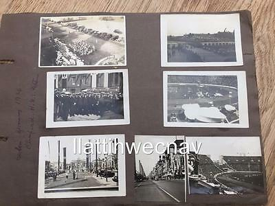 ORIGINAL PHOTOGRAPHS OF 1936 BERLIN OLYMPIC GAMES taken by crew of H.M.S.NEPTUNE