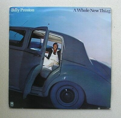 Lp  - Billy Preston -  ' A Whole New Thing '  (1977)  A&m Sp 4656