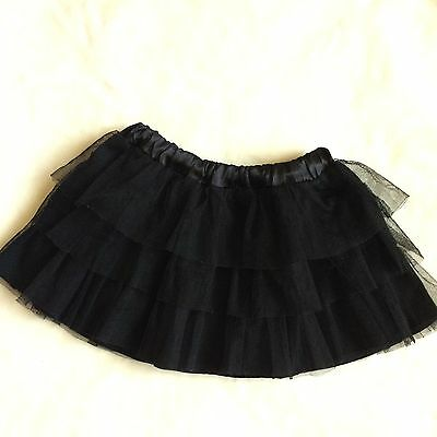 Freestyle by Danskin Black Gymnastics/Dance/Ballet Tutu Skirt 4/5 (XS)