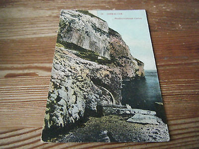 Early Card -  The Mediterranean Caves - Gibraltar -   Unused Card   Vgc