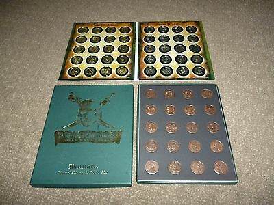 Complete Sets Of Gold,silver & Copper Coloured Coins Pirates Of The Caribbean