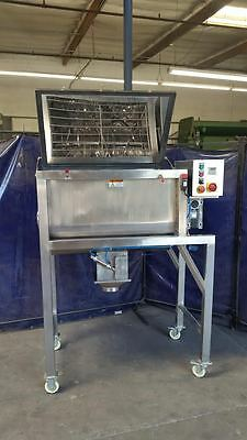 Ribbon Blender Mixer 7 Cu Ft Stainless Steel (Free Shipping Estimates!)