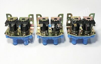 9379-183-001 (3) Pieces 2 Way 110V Water Valve  For Dexter Washer
