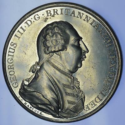 George III - 1801 Recovery from Illness medal by Hancock