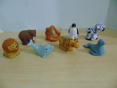 Fisher Price Little People Zoo Talkers Lot of 8