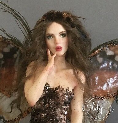 OOAK fantasy fairy ENCHANTED WOOD - by Barbara De Girolamo -