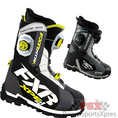 FXR Tactic Boa Focus Snowmobile Boots  ~ New 2016