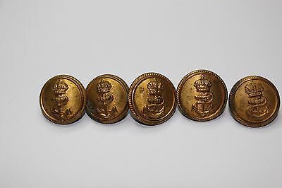 WWI KRIEGSMARINE BUTTONS 5 pices