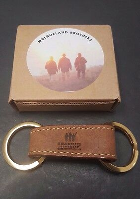 NEW Mulholland Brothers Genuine Leather Valet Key Ring