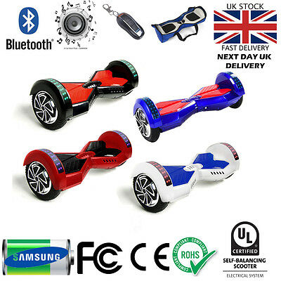 """Hoverboard 8"""" swegway Self Balance Board Electric Scooter Samsung Battery"""