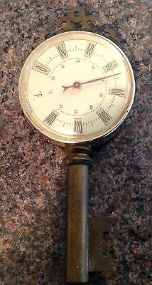 Vintage Brass Thermometer Key Made In France
