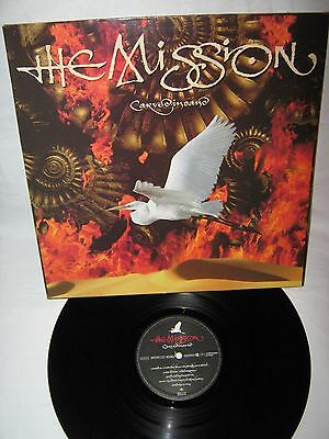 The Mission-Carved In Sand LP 1990 Super Copy Of Classic Goth Rock