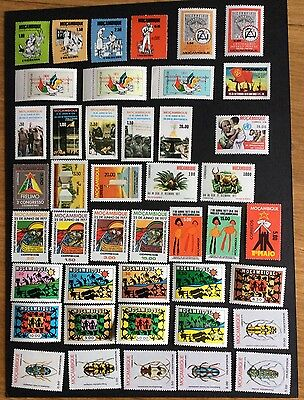 Mozambique 43 Unmounted Mint Stamps In Sets Cat £17+(Lot117)