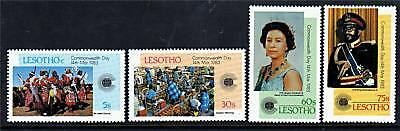 Lesotho 1983 Commonwealth Day SG 536/9  MNH