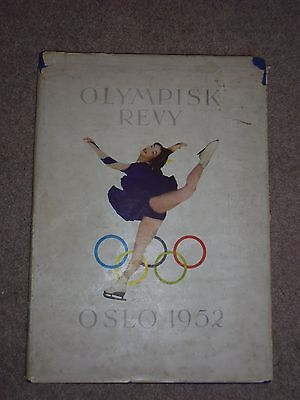 Olympisk Revy Oslo 1952. Olympic Souvenir Book