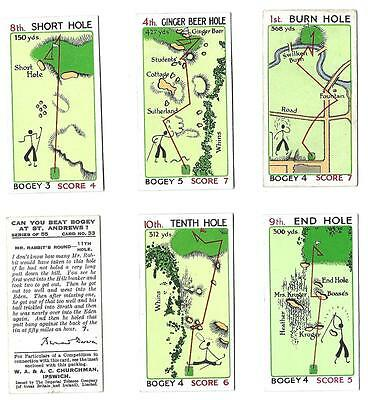 Churchman - Can You Beat The Bogey At St. Andrews?  - 6/55 - 1933