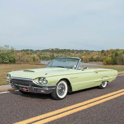 1964 Ford Thunderbird Thunderbird CVT 1964 Ford Thunderbird Convertible, Florentine Green, automatic, All Power!  LOOK