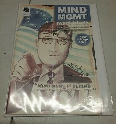 Mind MGMT No7 Comic SIGNED