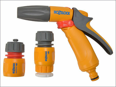 Hozelock 2348 3 Position Jet Spray Hose Gun With Fittings