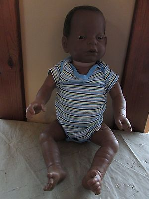 Reality Works Real Care Baby II Plus African American Male DOLL ONLY UNTESTED