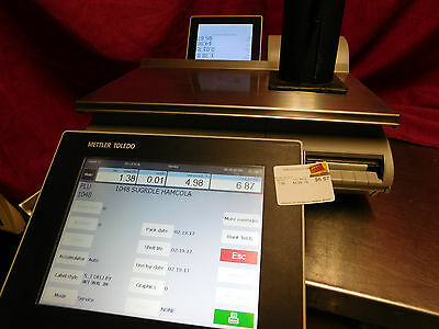 Mettler Toledo Smart Touch Scale Impact Pact M Scale & Printer CLEANED! #793