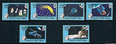Gambia 1986 Halley's Comet SG 634/9 MNH