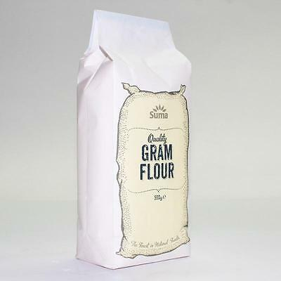 Suma GRAM CHICKPEA FLOUR 500g * Buy 2 or More and Save on P&P* BB 31/3/17 SALE !