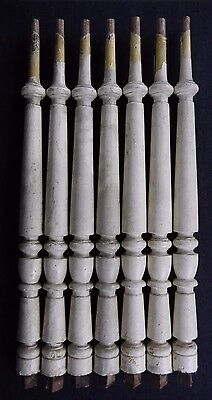 Antique Balusters Lot of 7 Stair Spindles Polhemus House Newark NJ 1800's (F)