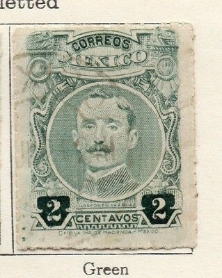Mexico 1917 Early Issue Fine Used 2c. 133853