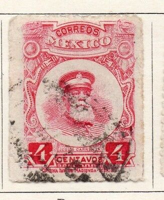 Mexico 1917 Early Issue Fine Used 4c. 133855