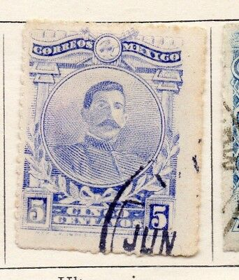 Mexico 1917 Early Issue Fine Used 5c. 133856