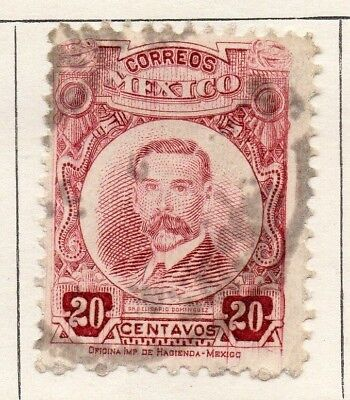 Mexico 1917 Early Issue Fine Used 20c. 133863
