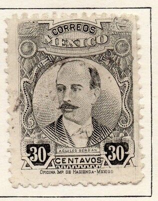 Mexico 1917 Early Issue Fine Used 30c. 133864