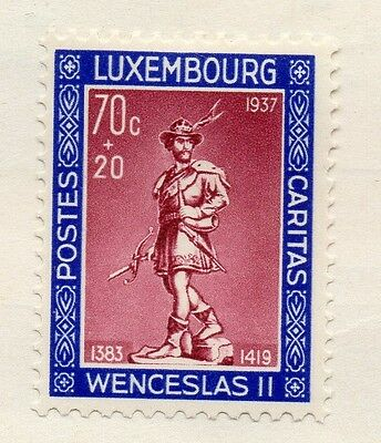 Luxembourg 1937 Early Issue Fine Mint Hinged 70c. 133873